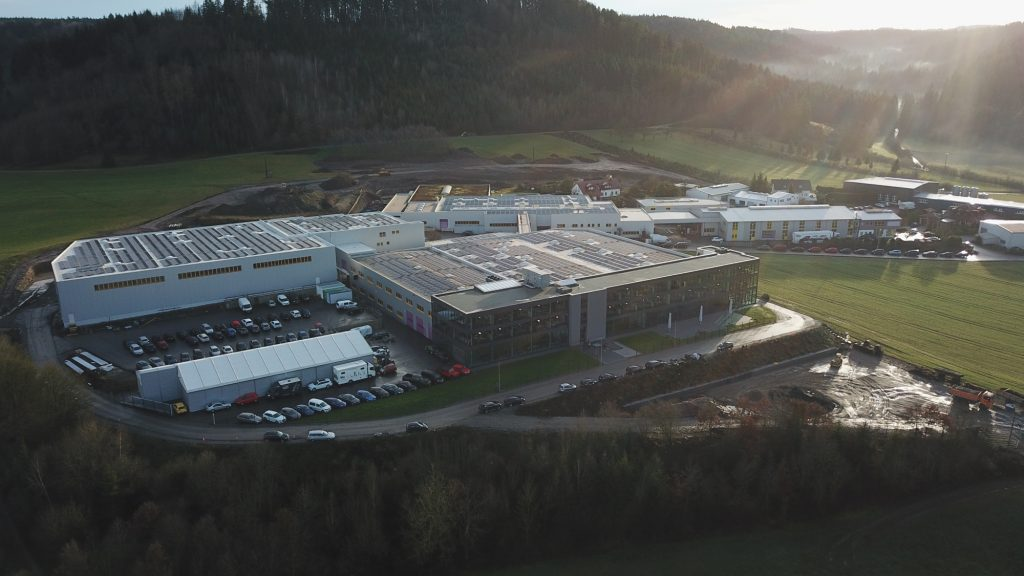 KW headquarters Fichtenberg, Germany